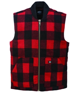 Red Martinsburg Vest by Dickies