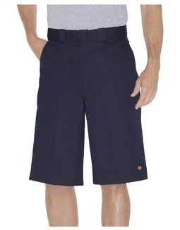 "13"" Loose Fit Multi-Use Pocket Work Short Dark Blue"