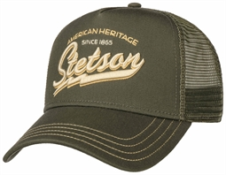 Stetson Trucker Cap American Heritage Classic - Olive