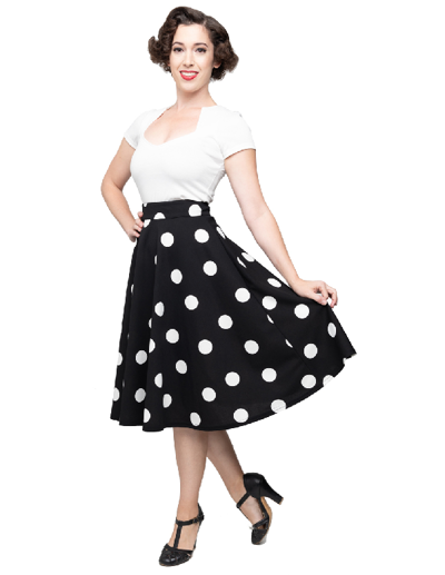 Dottie Thrills Skirt med lommer
