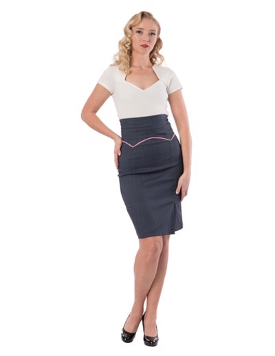 Yoaked up pencil skirt