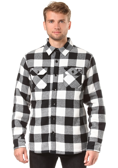 Lansdale Jacket by Dickies White/black