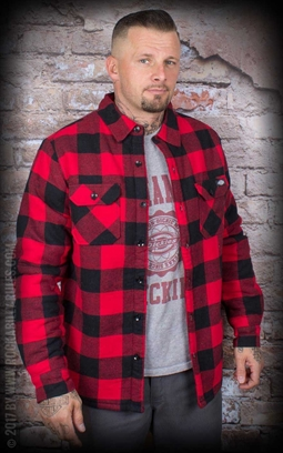 Lansdale Jacket by Dickies Red