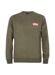Dickies Harbour Creek Sweat Olive Green