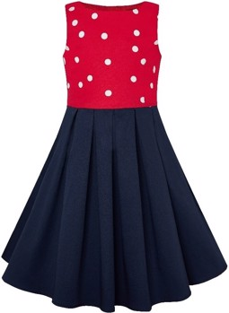 Kids Annie Vintage Inspired Polkadot dress