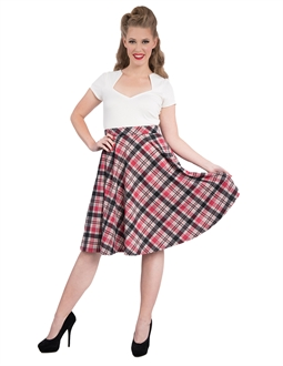 Leona Plaid pocket thrills skirt