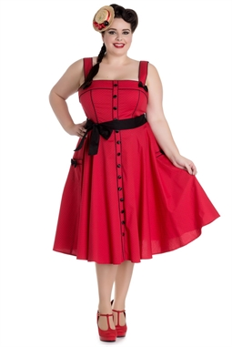 Martie 50´s dress Red
