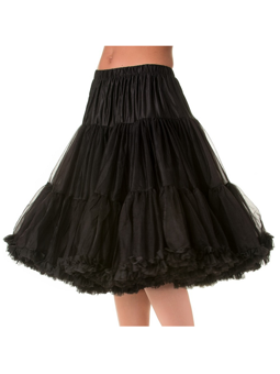 Banned Lifeform Petticoat Black