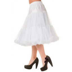 Banned Lifeform Petticoat White